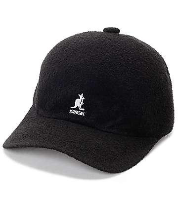 Kangol Bermuda Space Black Baseball Hat