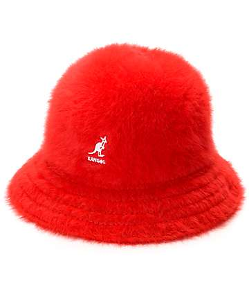 Kangol Furgora Casual Red Bucket Hat