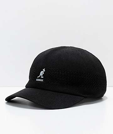 Kangol Tropic Ventair Black Spacecap Baseball Hat