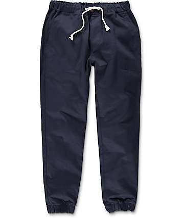 Kennedy Boarder pantalones jogger en azul marino