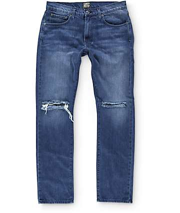 Kennedy Rip Oxidized Slim Fit Jeans