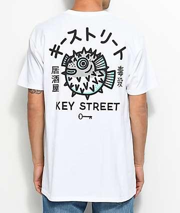 Key Street Fugu camiseta blanca