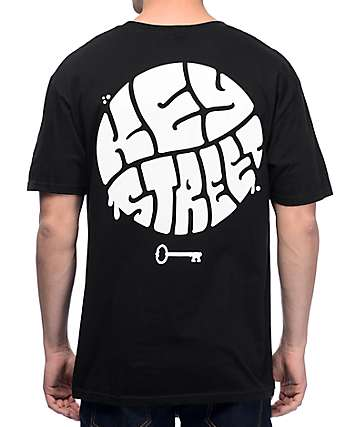 Key Street Hippie Black T-Shirt