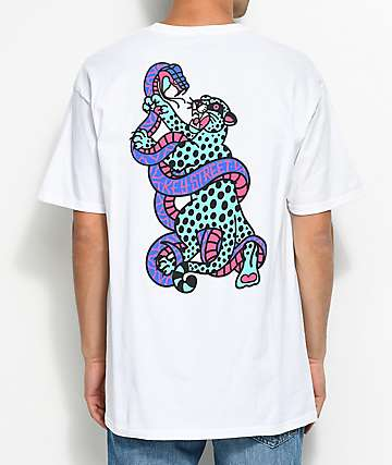 Key Street Jaguar White T-Shirt