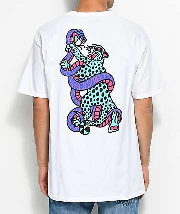 Key Street Jaguar White T-Shirt