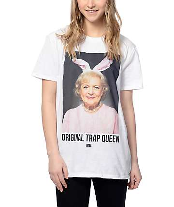 Kill Brand OG Trap Queen White T-Shirt