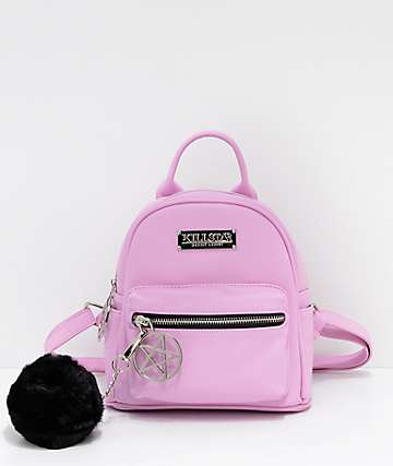 Killstar Darcy Light Pink Mini Backpack