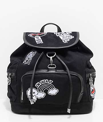 Killstar Spektra 90's Black Backpack