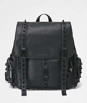 Killstar Thriller Studded Black Backpack
