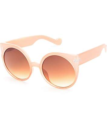 Kiss and Tell Pink Catty Sunglasses