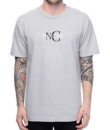 Know Bad Daze No Chill Heather Grey T-Shirt