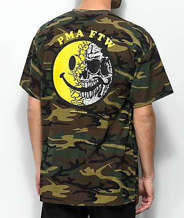 Know Bad Daze PMA Camo T-Shirt