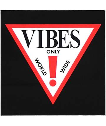 Know Bad Daze Vibes Sticker
