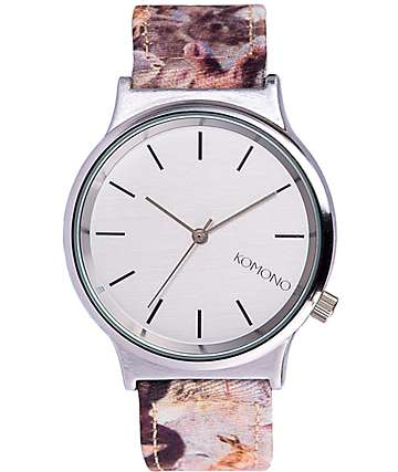 Komono Wizard Wild Hares Analog Watch