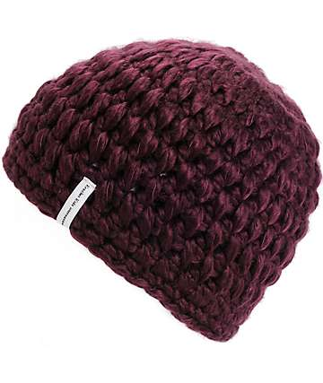 Krochet Kids Betty Wine Beanie