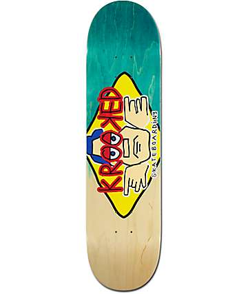 "Krooked Arketype Fade 2 8.06"" Skateboard Deck"