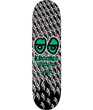 "Krooked Bright Eyes 8.5"" Skateboard Deck"