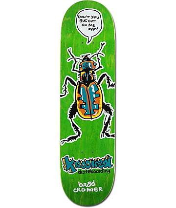 "Krooked Cromer Bugout 8.38"" Skateboard Deck"