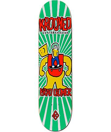 "Krooked Cromer Inside Job 8.0625"" Skateboard Deck"