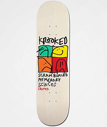 "Krooked Cromer KD-Ultra 8.25"" tabla de skate"