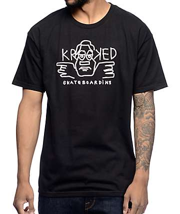 Krooked Dude Black T-Shirt