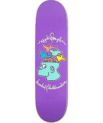"Krooked Gonz Brain On Bird 8.5"" Skateboard Deck"