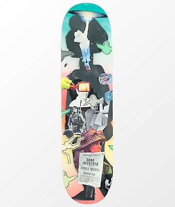 "Krooked Gonz Collage 8.25"" Skateboard Deck"
