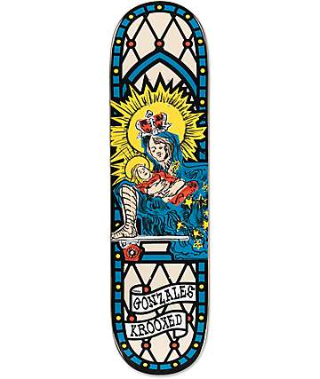 "Krooked Gonz Skate Mom 8.38"" Skateboard Deck"