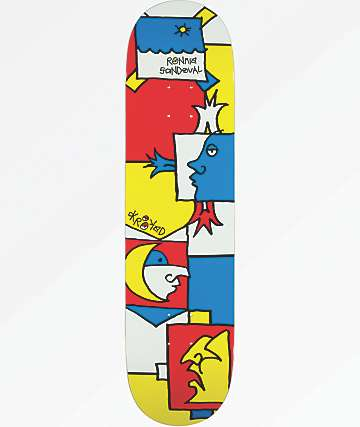"Krooked Ronnie Tableau 8.06"" Skateboard Deck"