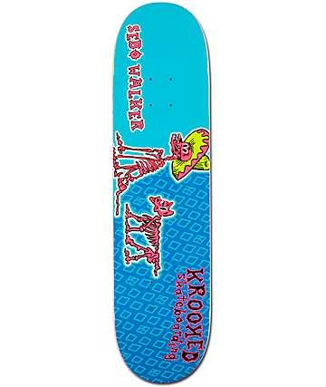 """Krooked Sebo Walker Los Perros Muertos 8.06"""" Skateboard Deck"""