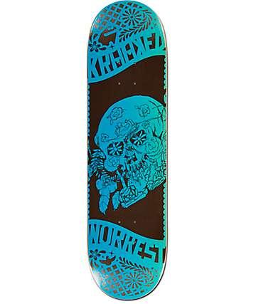"Krooked Worrest Dia De Los 8.38"" Skateboard Deck"
