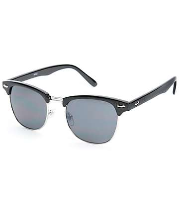 Kruz Gloss Black Sunglasses