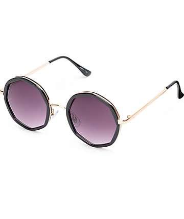 Kylie gafas de sol en negro