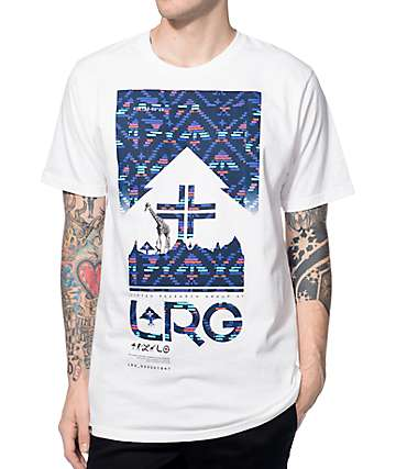 LRG 4 Sided Story White T-Shirt