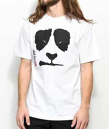 LRG Angry Panda White T-Shirt