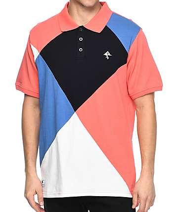 LRG Argyle Dimensions camiseta polo en rosa