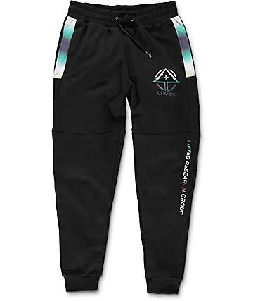 LRG Big Bang Black Sweatpants