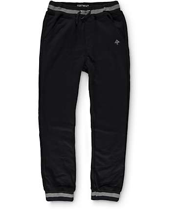 LRG Boys Black Jogger Pants