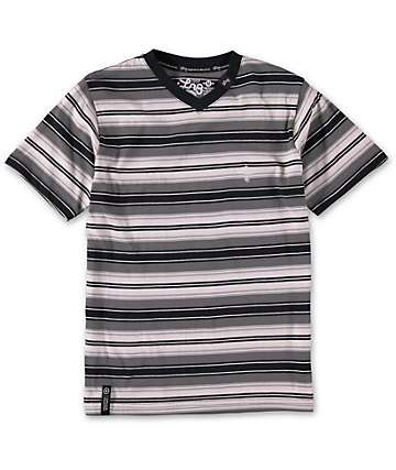 LRG Boys Breathe Life V-Neck T-Shirt