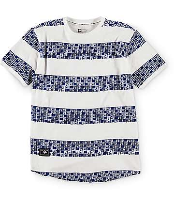 LRG Boys Stripe Monolith White T-Shirt