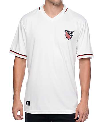 LRG Brighter Futures White Soccer Jersey