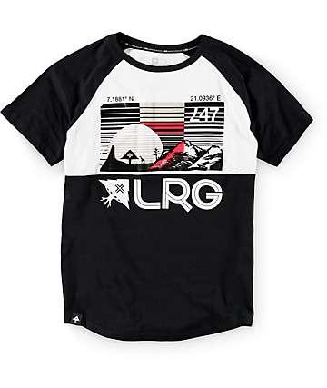 LRG Coordinate camiseta negra y blanca (niño)