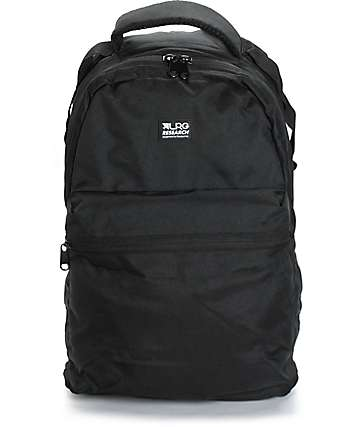 LRG Core Collection One Black Backpack