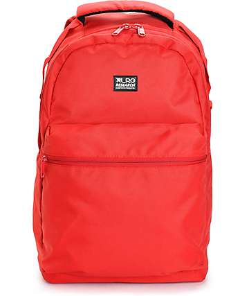 LRG Core Collection One Hyper Red Backpack