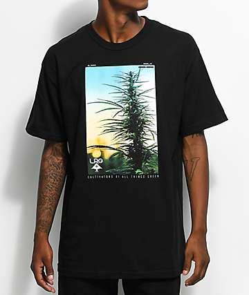 LRG Cultivators Of Green camiseta negra