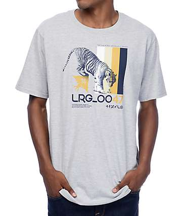 LRG Curiosity Grey T-Shirt