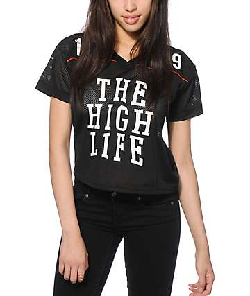 LRG Force 47 Crop Mesh Jersey