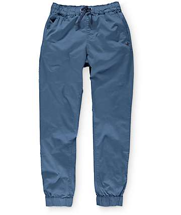LRG Game Changer Blue Twill Jogger Pants