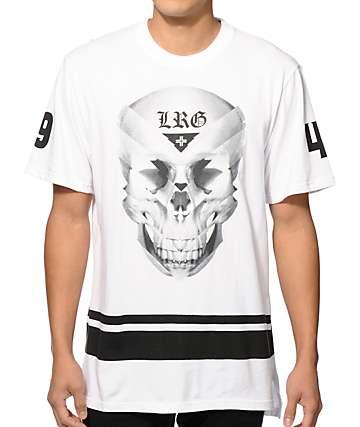 LRG Gradient Skull Long T-Shirt