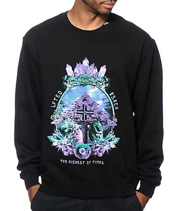 LRG Highest Of Times Crew Neck Sweatshirt